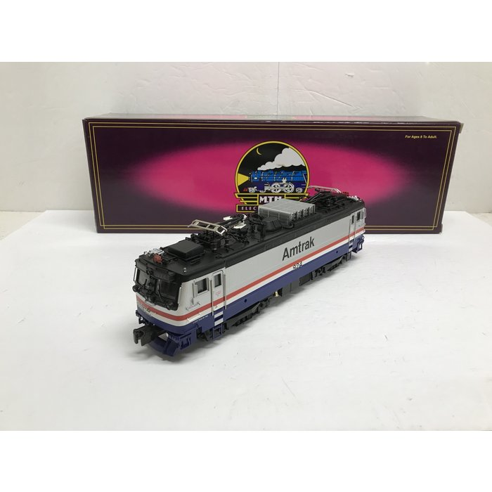 MTH 20-5505-1 O AEM-7 Amtrak #924 w/ PS1