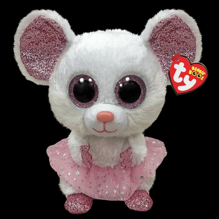 Nina the Ballerina White Mouse