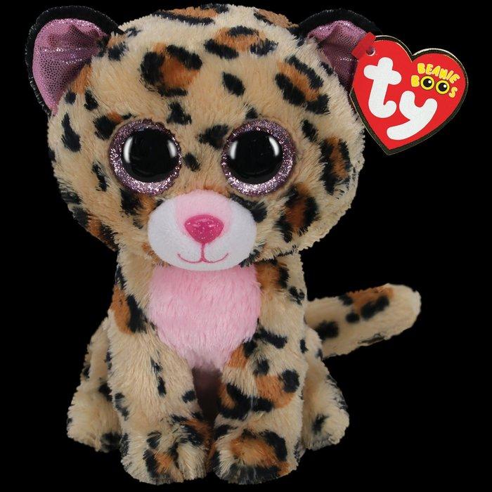 Livvie the Brown & Pink Leopard