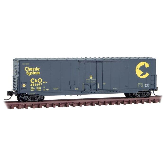 N 50' Box Car C&O Rd# 482497