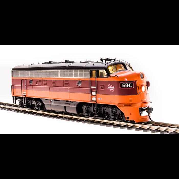 HO F7 A-B Diesels MILW #68A/B w/ DCC/SND