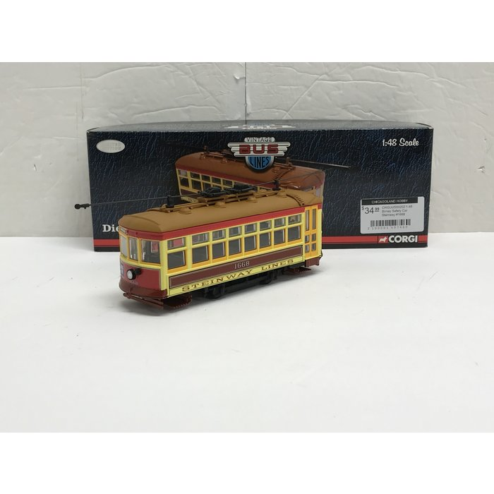 Corgi US55202 1:48 Birney Safety Car Steinway #1668