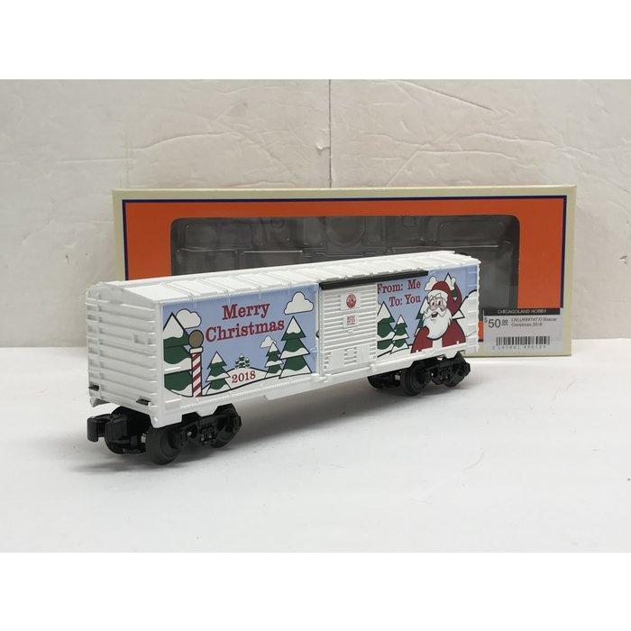 Lionel 6-84747 O Boxcar Christmas 2018