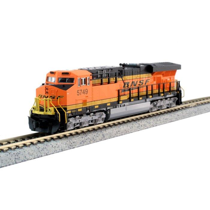 N GE ES44AC Diesel BNSF #5749/Swoosh DCC