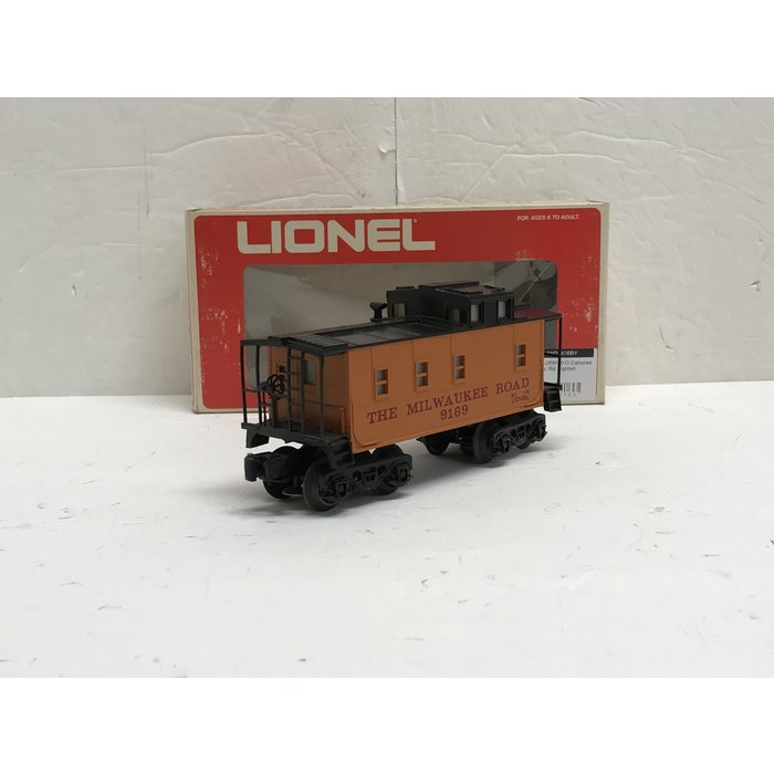 Lionel 6-9169 O Caboose Milwaukee Road Lighted