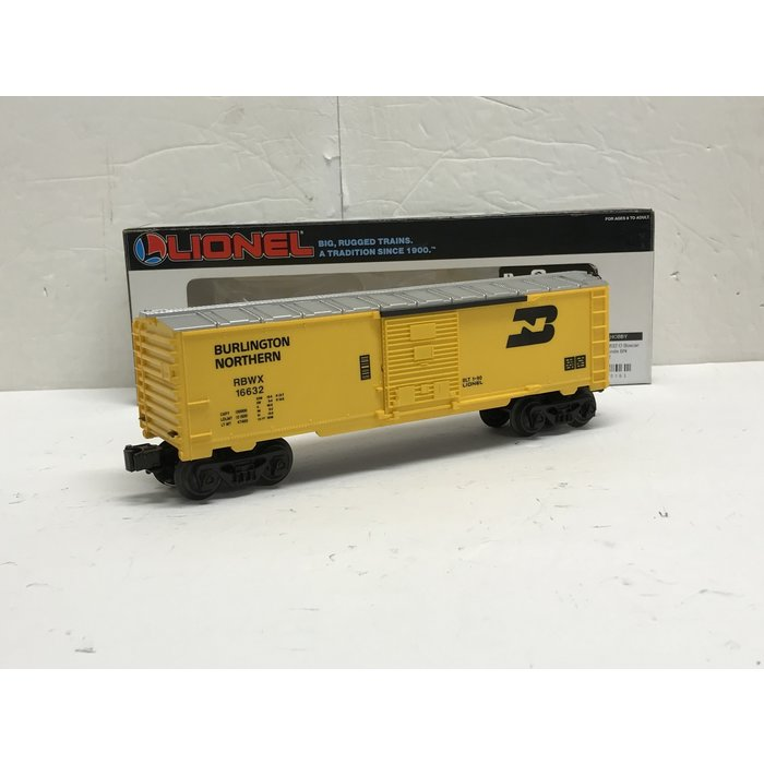 Lionel 6-16632 O Boxcar w/ Railsounds BN Rd#16632