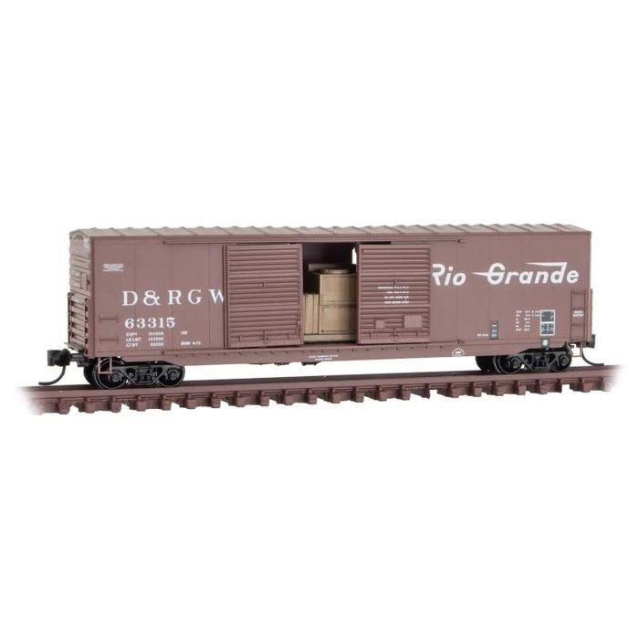 N 50' Box Car D&RGW #63315
