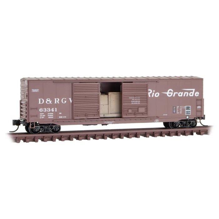 N 50' Box Car D&RGW #63341