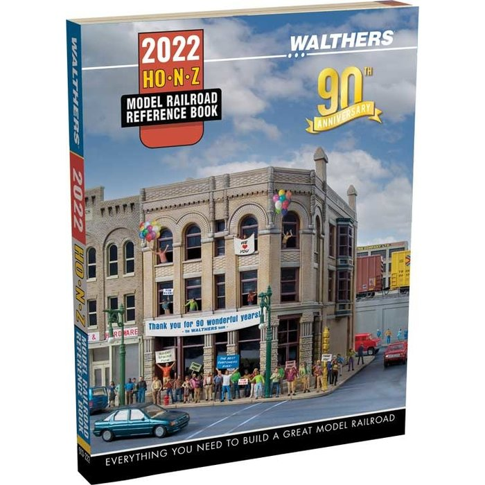 Walthers Model Railroad Reference Book   2022