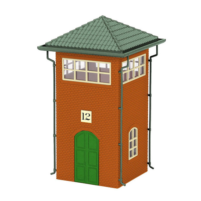 O Trackside Yard Tower/red&dk.gry