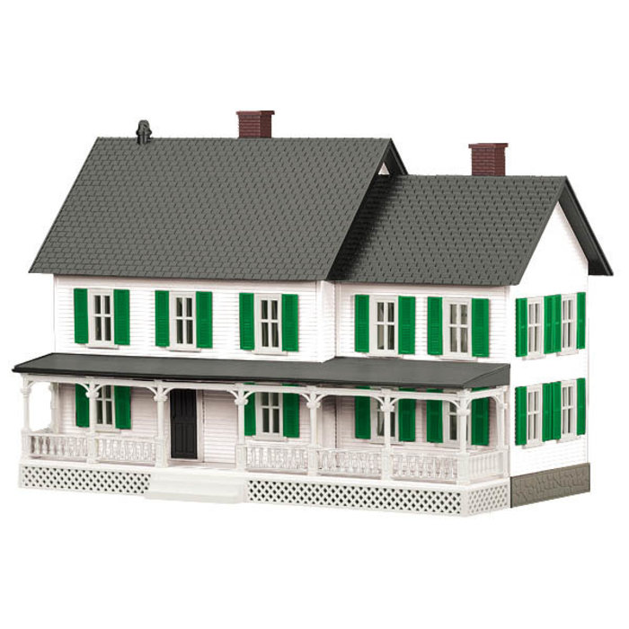 O Country House (White & Green)