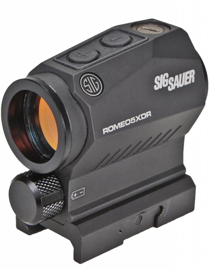 Sig Sauer ROMEO5 X COMPACT RED DOT SIGHT 1x20 MM M1913