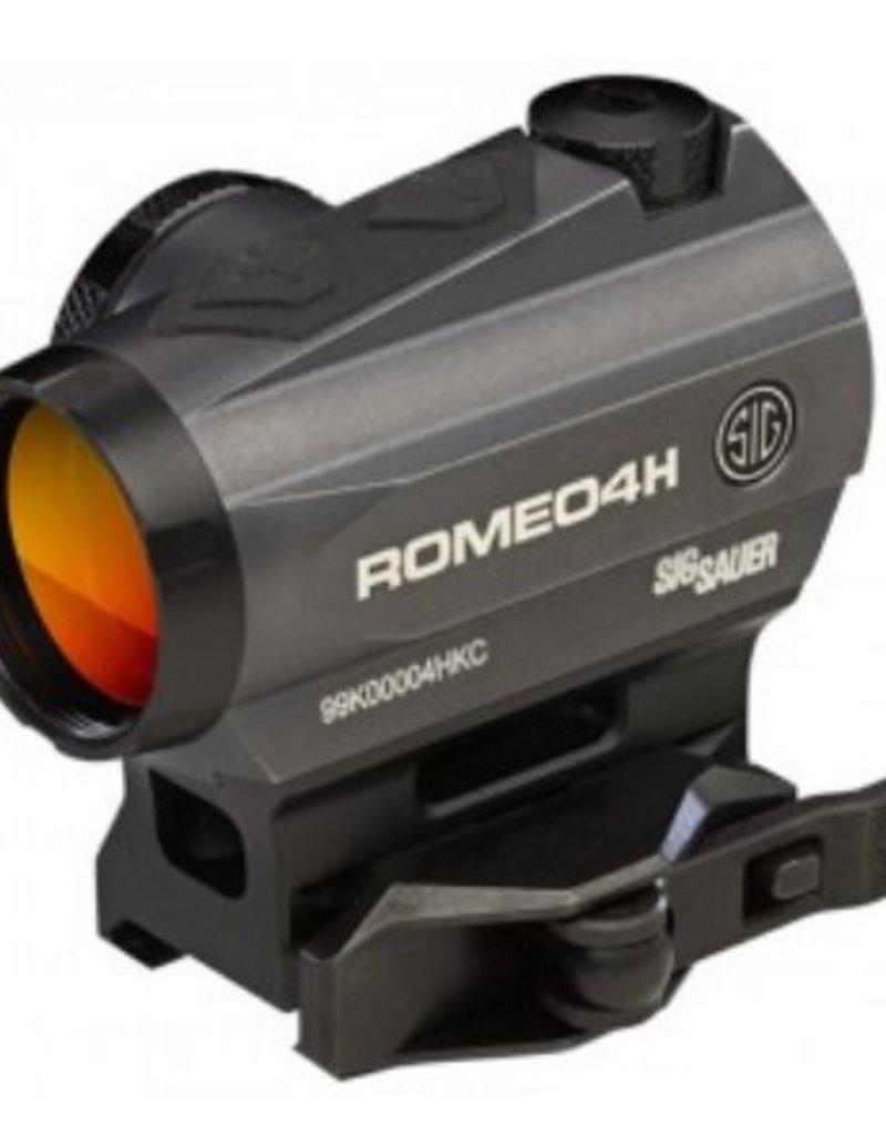 Sig Sauer Romeo4H Red Dot Ballistic Circle Dot 1x20