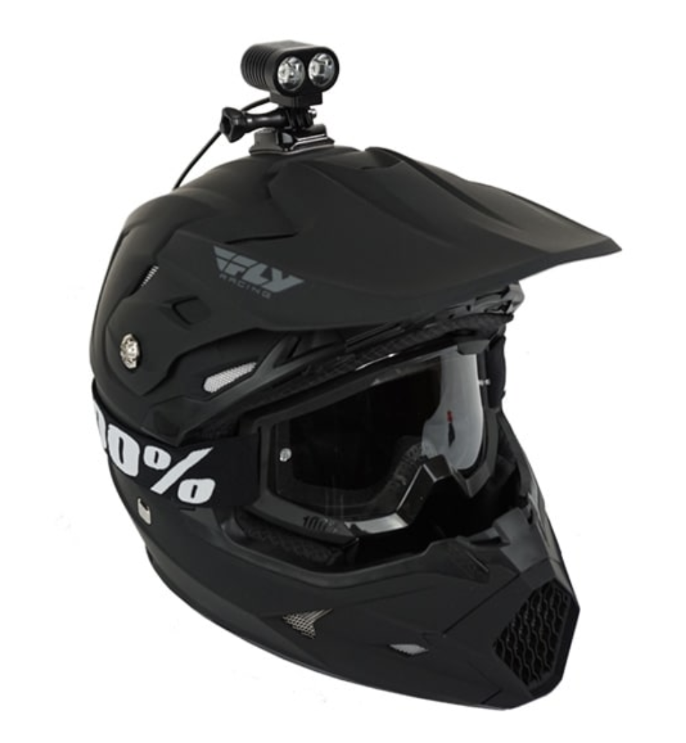 Dirt Bike Helmet With Visor >> Oxbow Voyager Dirt Bike Helmet Light Kit Kauffman Knives And