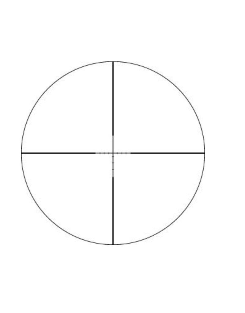 Vortex Crossfire II 4-12x50 BDC AO W/ Sunshade