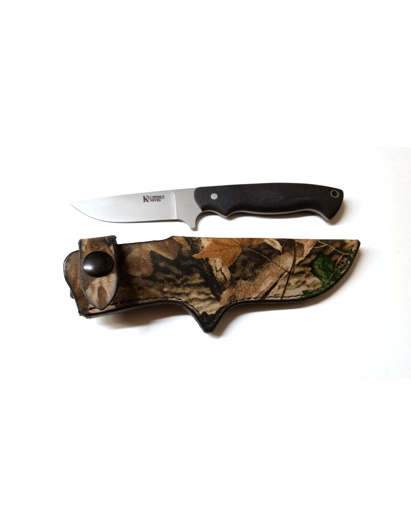 Kauffman Knives and Optics Model 15 Drop Point Knife