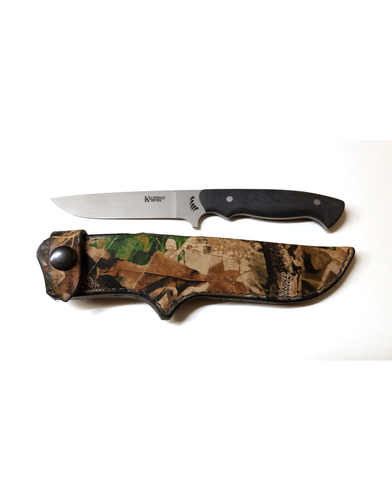 Kauffman Knives and Optics Grizz Drop Point Knife