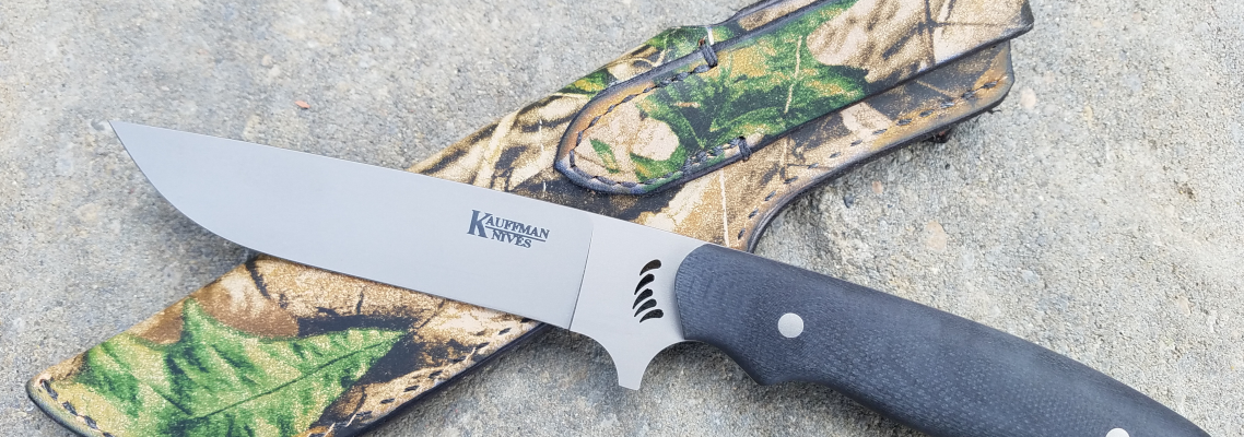 Kauffman Knives Grizz Edition