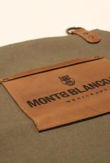 MONTE BLANCO 04 APRON CANVAS Y PIEL VERDE, MONTE BLANCO 04