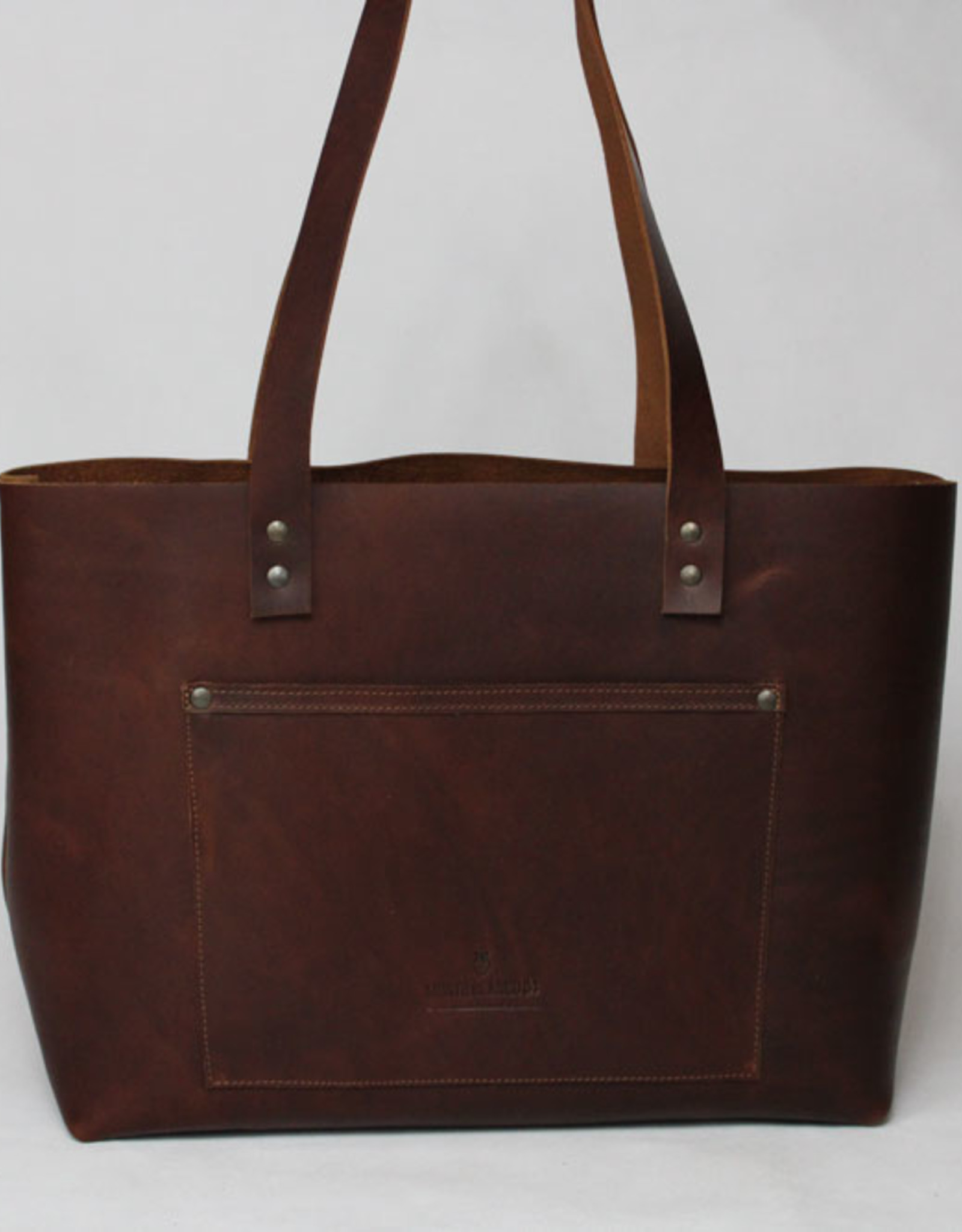 MONTE BLANCO 04 TOTE BAG PIEL MARRON, MONTE BLANCO 04