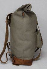 MONTE BLANCO 04 ANDES BACKPACK CANVAS Y PIEL CAFE, MONTE BLANCO 04