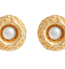 CAROLINA ALATORRE SHIMMERING LIGHT STUDS, CAROLINA ALATORRE