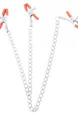Orange Is The New Black Pleasure Clamps & Chain