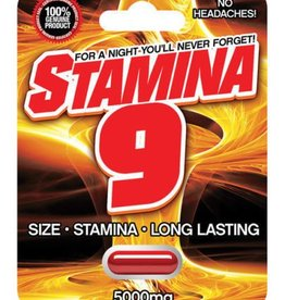 STAMINA 9 MALE ENHANCEMENT 1 PILL