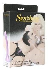 Sportsheets Strap-On & Silicone Dildo Set