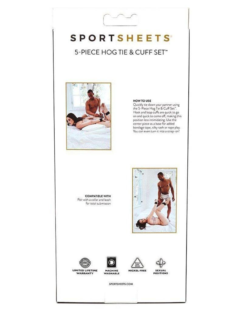 Sportsheets 5 Piece Hog Tie & Cuff Set