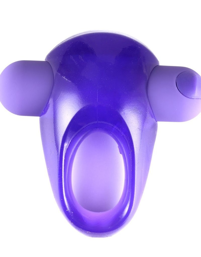 Maia Casey Vibrating Cockring-Purple