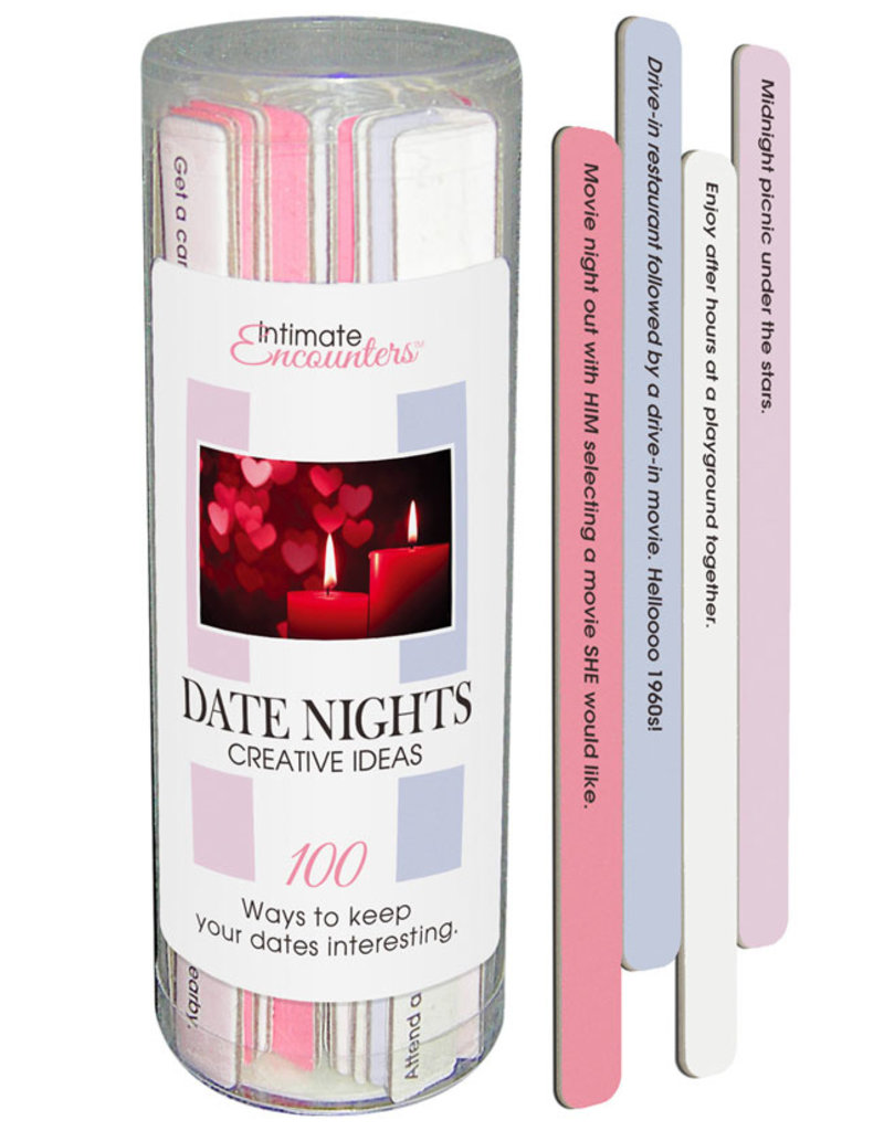 Intimate Encounters Date Nights Creative Ideas Game