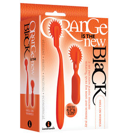 The 9'S Orange Is The New Black 2pc Wartenberg Wheel Set