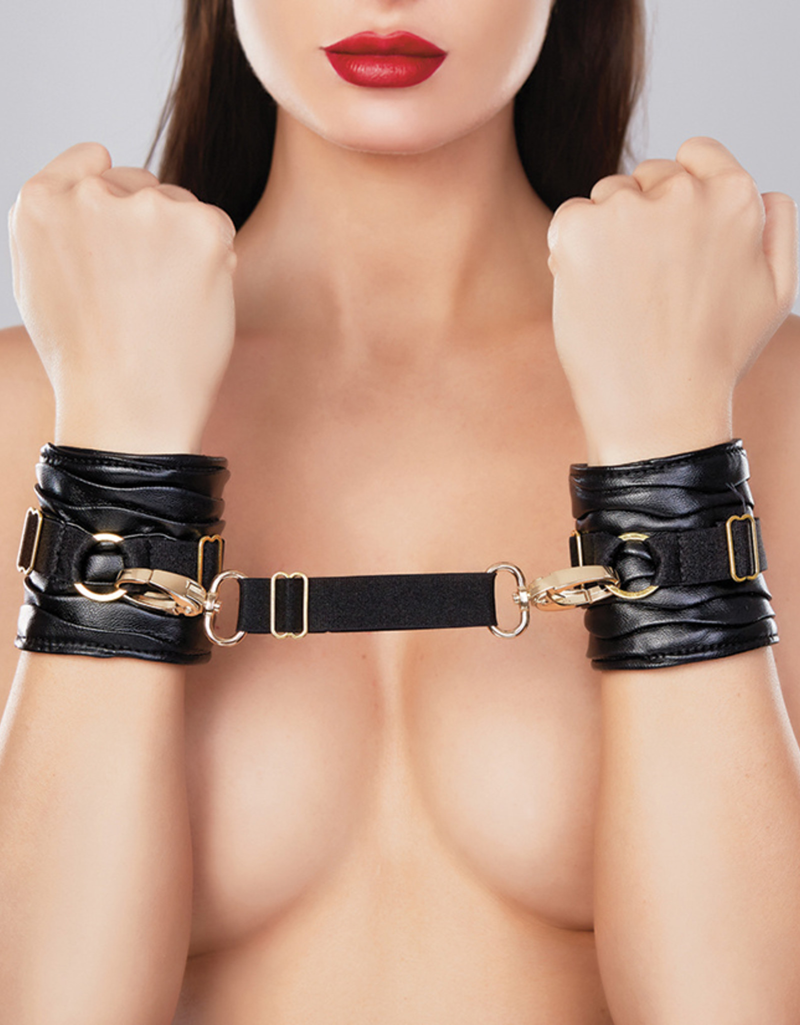 Adore Butter Soft Faux Leather Wrist Cuffs