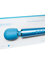 Le Wand Petite Vibrating Massager-Blue