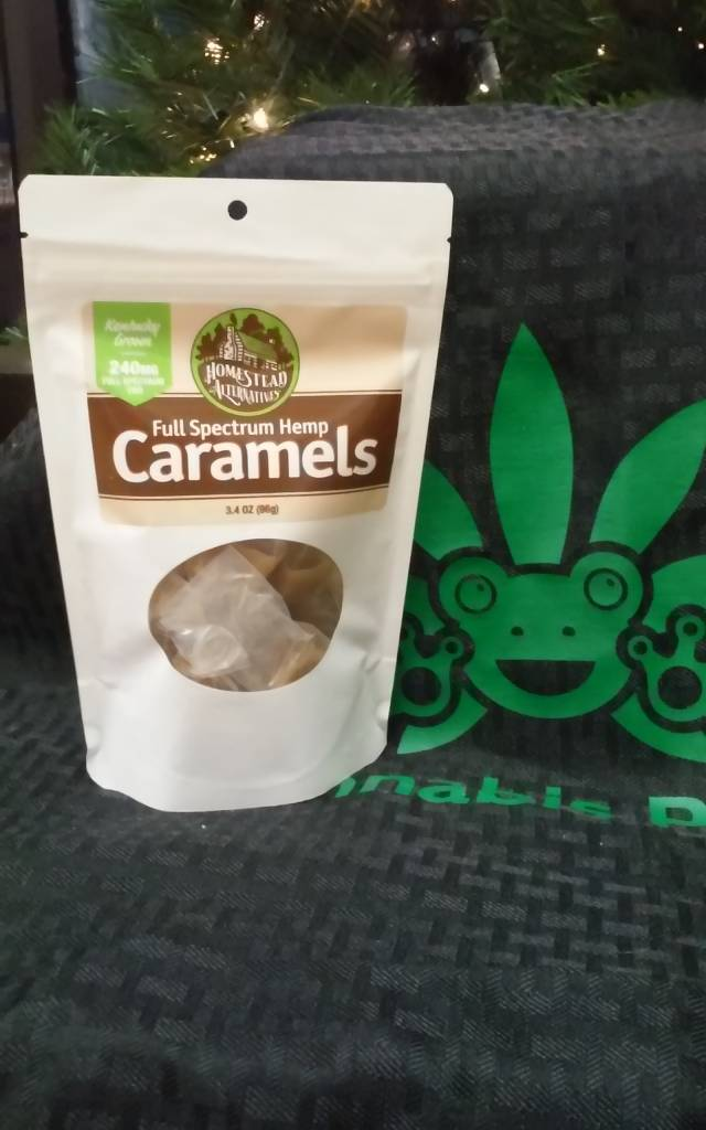Laura's Full Spectrum Hemp Caramels