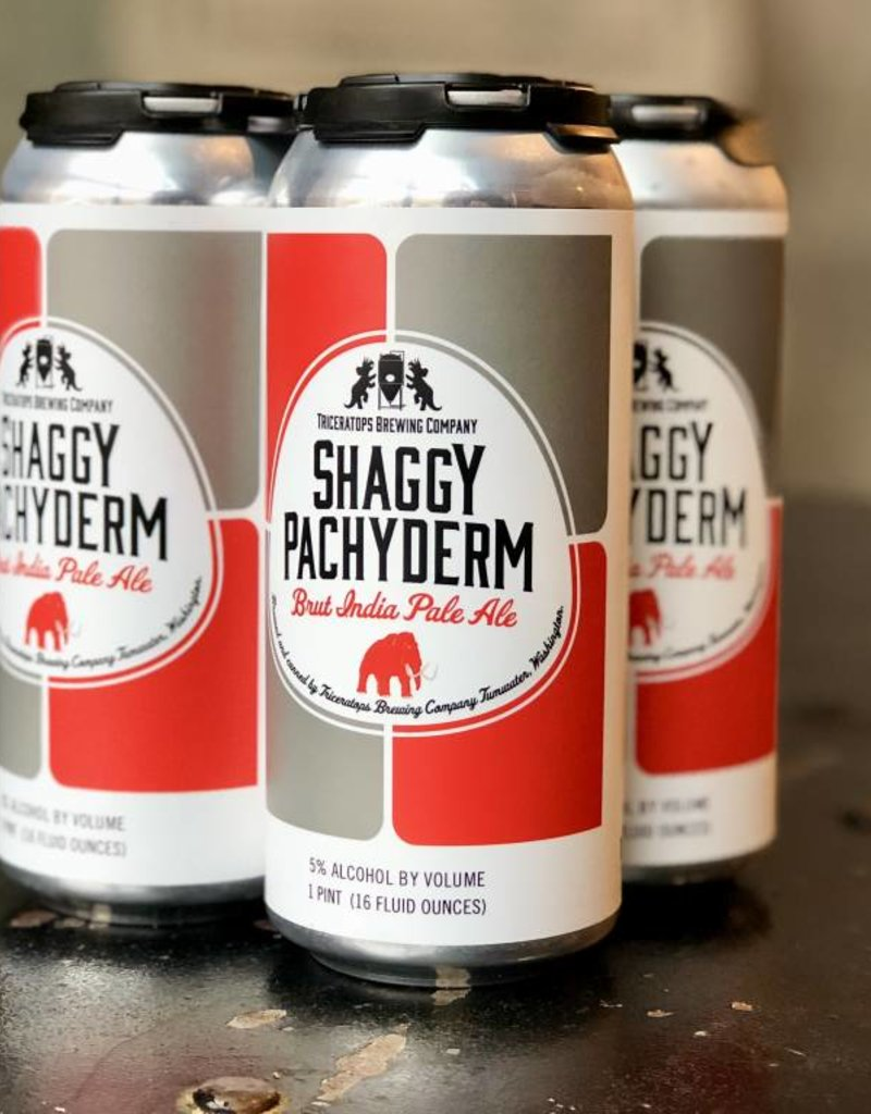 Triceratops Brewing Shaggy Pachyderm 16 oz 4 Pack