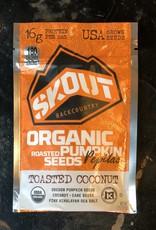 Skout Organic Pumpkin Seeds Toasted Coconut