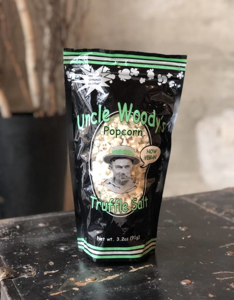 Uncle Woody's Truffle Salt Popcorn