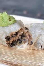 FliP Frozen Black bean burrito with roasted chicken