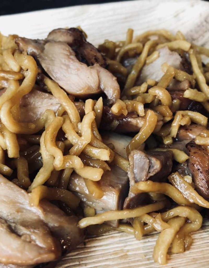 FliP Frozen Teriyaki Chicken and Noodles for Lunch