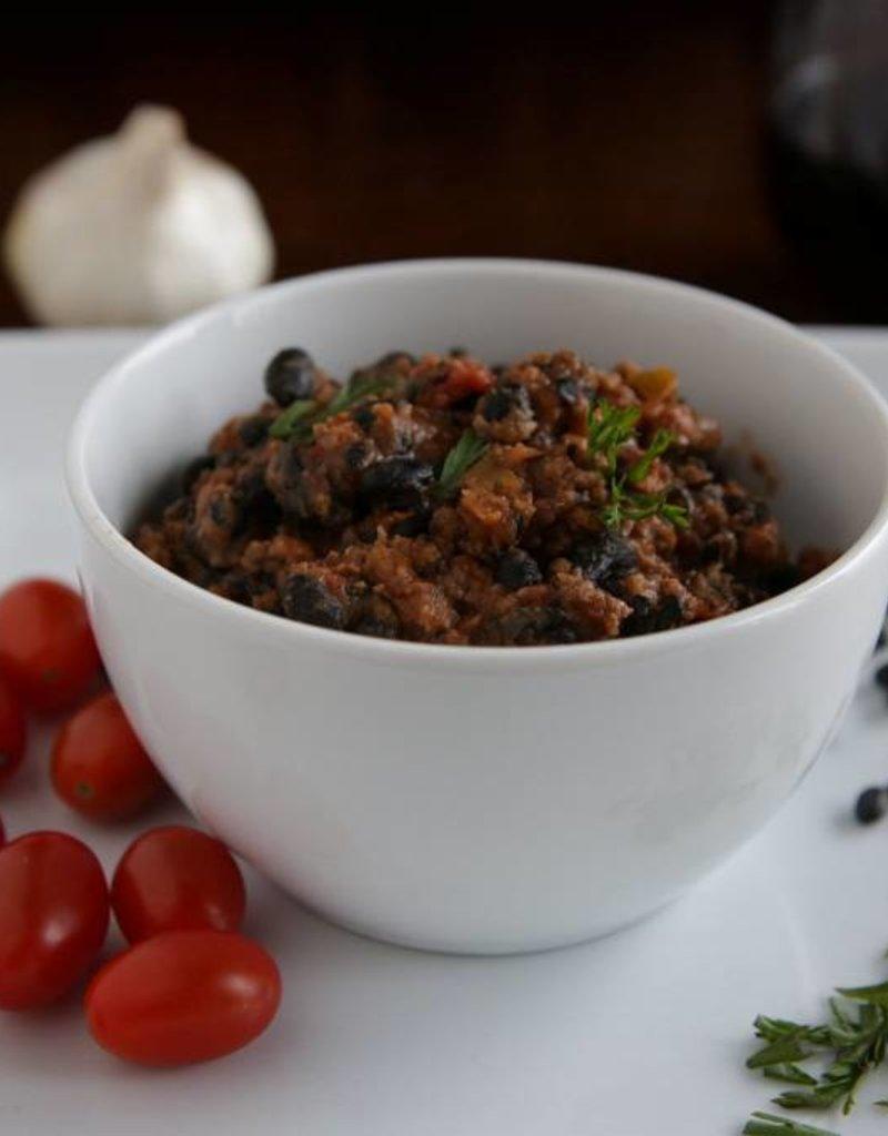 FliP Frozen Beef and Black Bean Chili