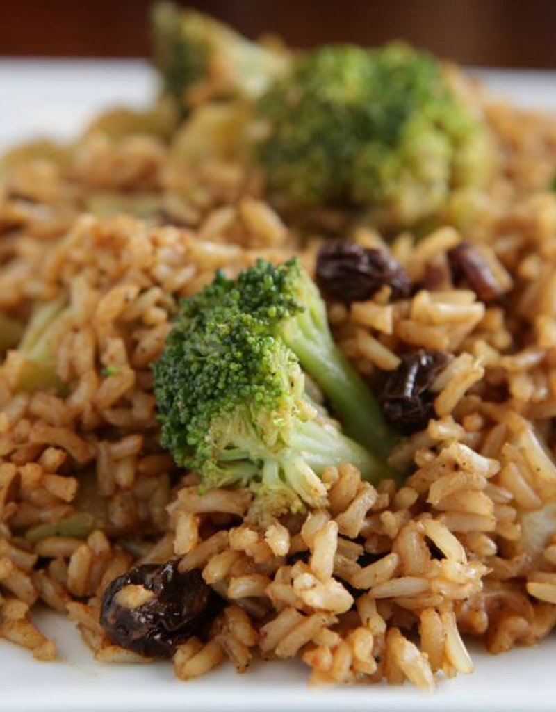 FliP Frozen Broccoli With Rice And Walnuts