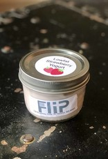 FliP Fresh Strawberry Yogurt in Glass Jar