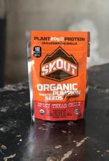 Skout Organic Roasted Pumpkin Seeds Spicy Texas Chilli