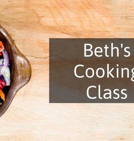 FliP Frozen Beth's Cooking Class
