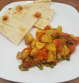FliP Frozen Pea And Potato Curry Vegetarian