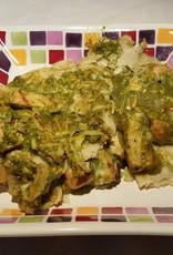 FliP Frozen Chicken Enchilada Casserole in Green Sauce