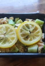 FliP Frozen Lemon Broccoli Chicken with Quinoa