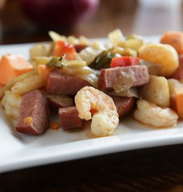 FliP Frozen Sausage and Shrimp With Peppers And Onions